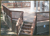 Composite decking and rails in Henrico West End